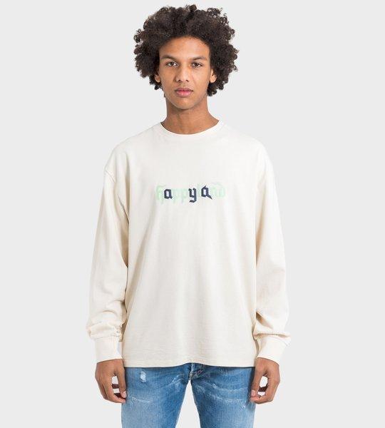 LS T-Shirt White