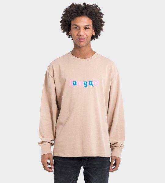 LS T-Shirt Beige