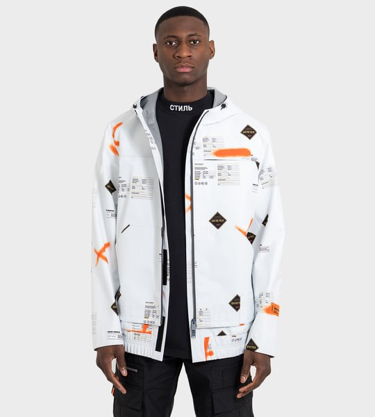 Goretex Windbreaker White