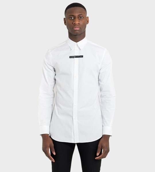 Address Shirt White In Cotton
