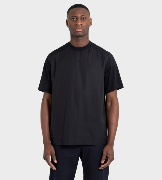 Boxy-Fit T-shirt  Black