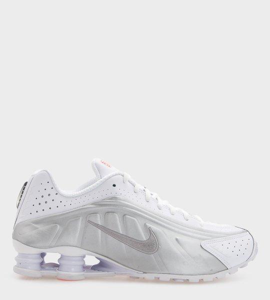 Shox R4 White/Matellic Silver