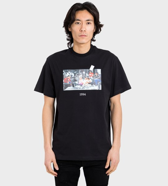 Friends T-shirt Black