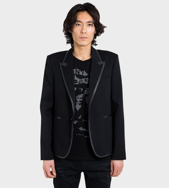 Jacket Black Contrast