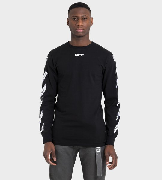 Airport Tape LS T-shirt Black