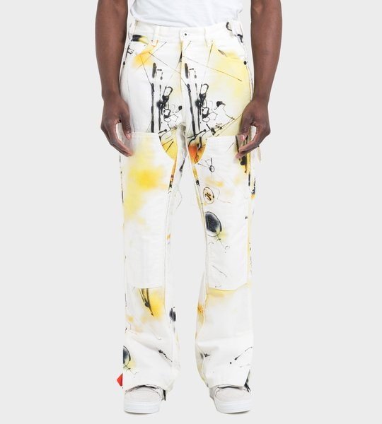 Futura Spray Print Pants