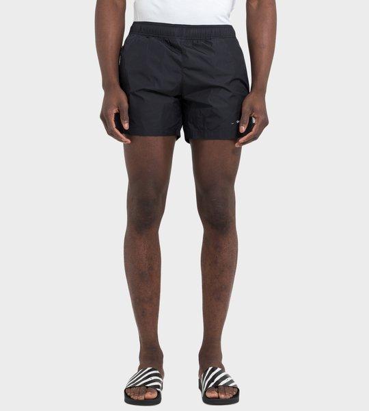 Logo Swim Shorts Black