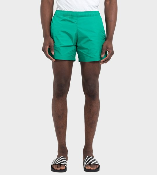 Logo Swim Shorts Mint Green