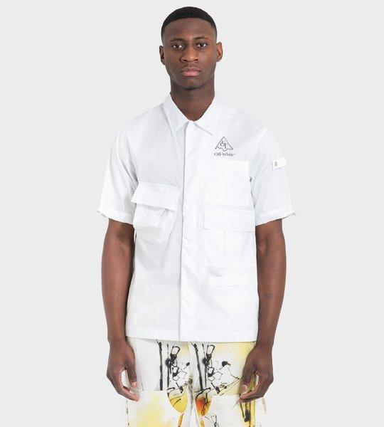 Vert Climb Voyager S/S Shirt White