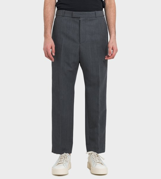 Pants Grey Straight