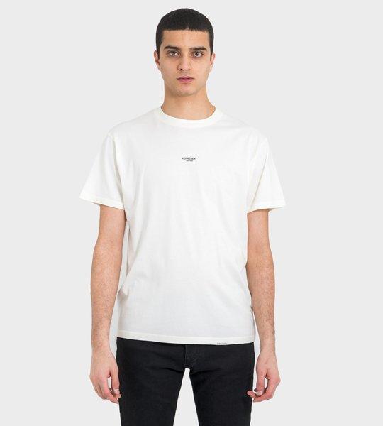 T-shirt Off White Mid Logo