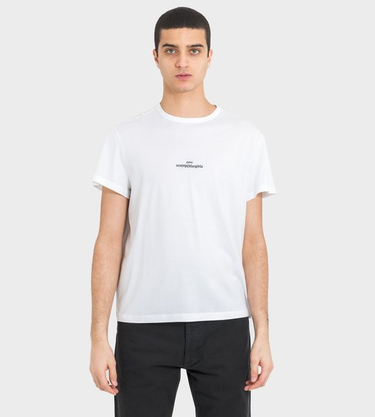 MM T-shirt White Black