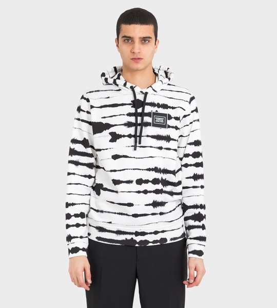 Burberry Abstract Print Hoodie