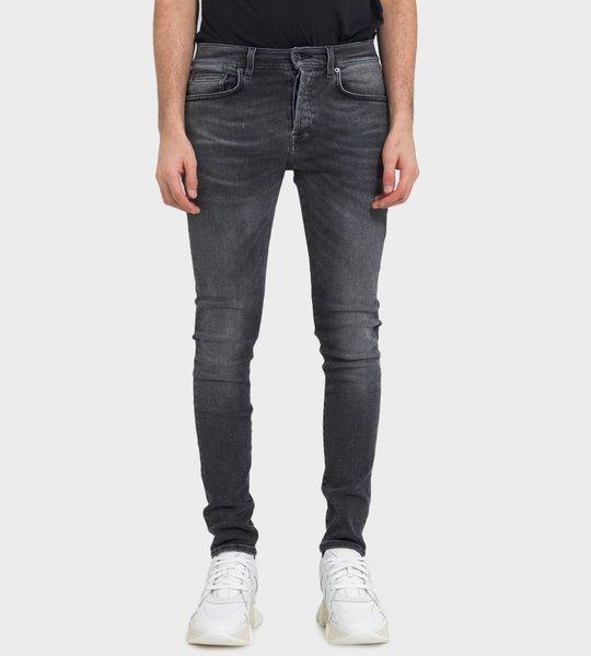 Windsor Long Ted Wash Jeans Black