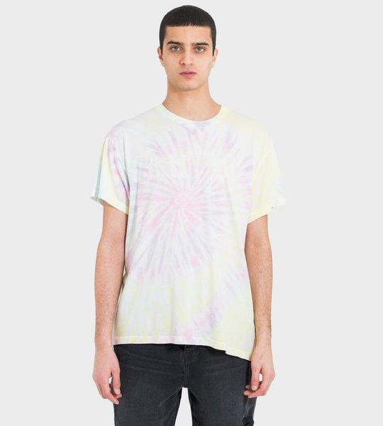 T-shirt Tie Dye Logo Print