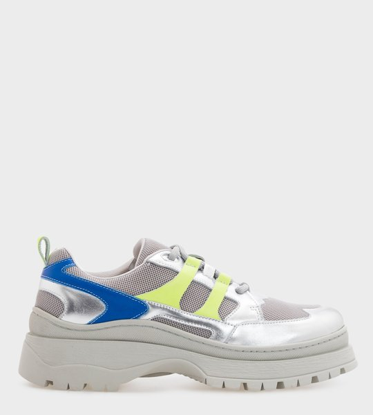 Nomad Sneaker Neon/Silver