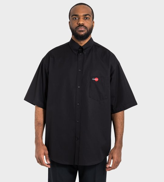 Uniform Short Sleeve Shirt Black