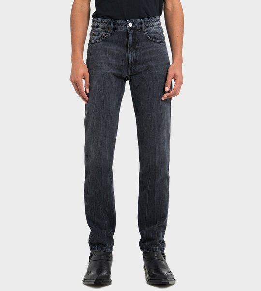 Slim Fit Jean Pitch Black
