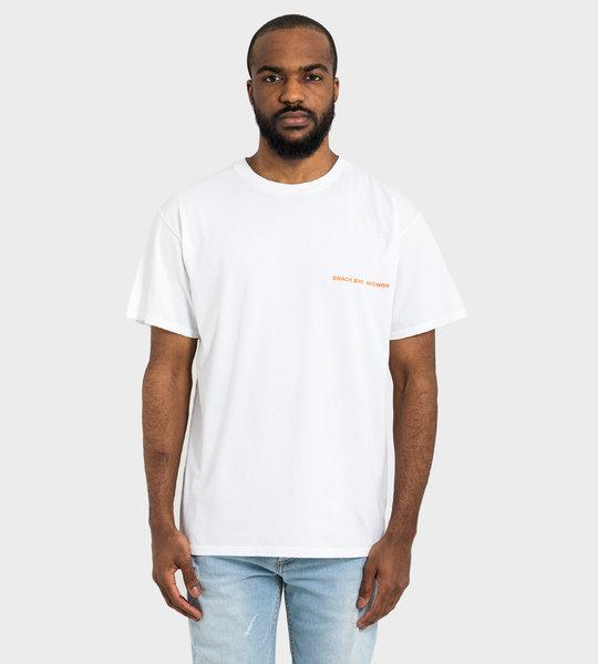 Snackbar Mignon T-shirt White