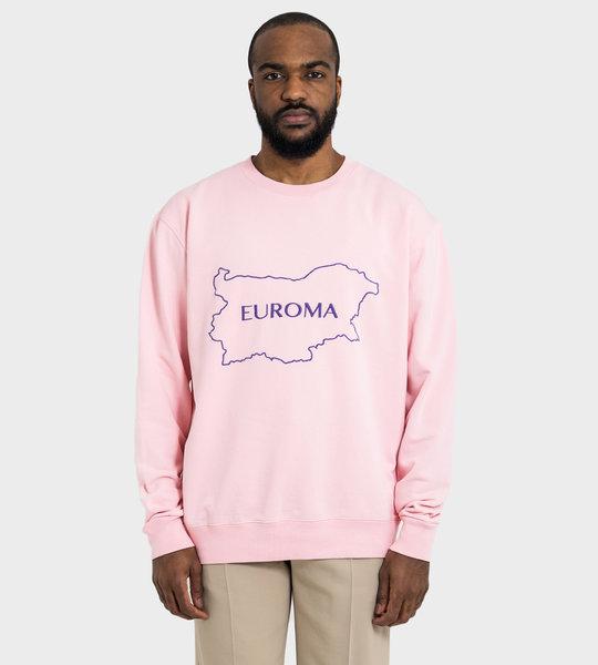 Euroma Crewneck Pink