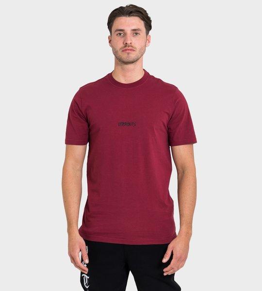 Logo Writing T-shirt Red