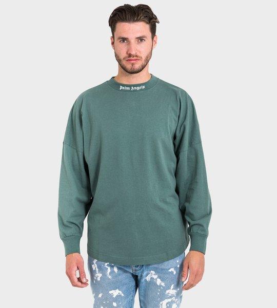 Classic Logo LS T-shirt Green