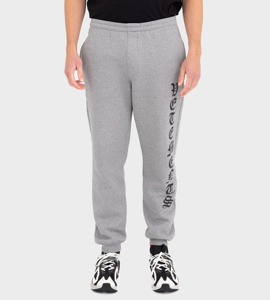 Logo-Print Pants Grey