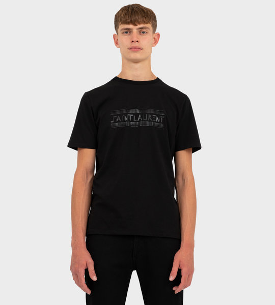 """SAINT LAURENT BAUHAUS"" T-Shirt Black"