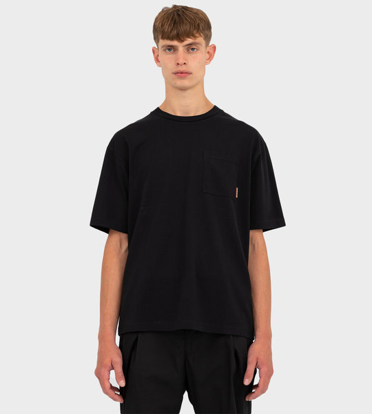Boxy Fit T-shirt Black