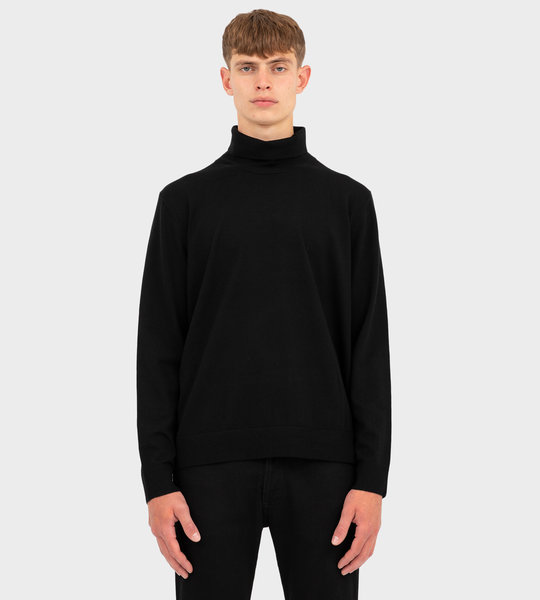 Roll Neck Sweater Black