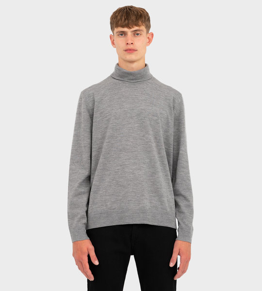 Roll Neck Sweater Grey
