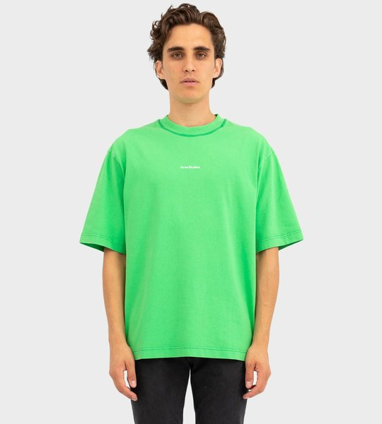 Reverse Logo T-shirt Bright Green