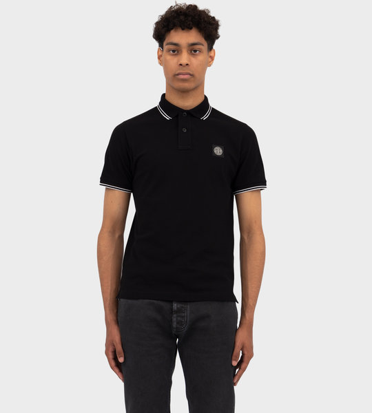 Short Sleeve Polo Black