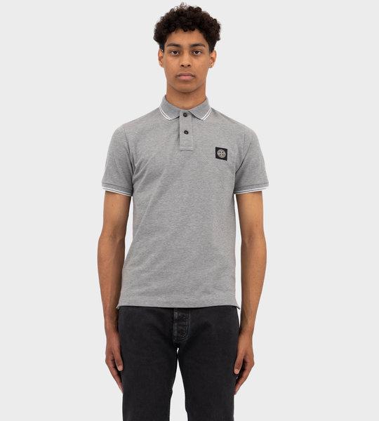 Short Sleeve Polo Grey