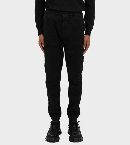 Technical Cargo Pants Black
