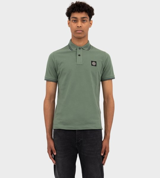 Short Sleeve Polo Sage