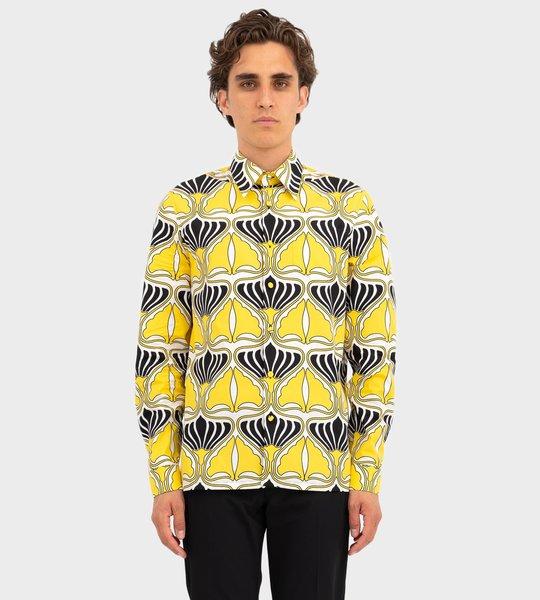Cotton Poplin Shirts Yellow