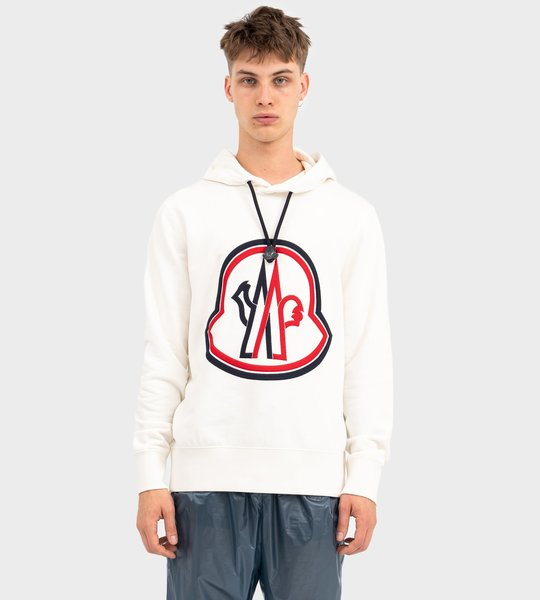 Maglia Hooded Sweater White