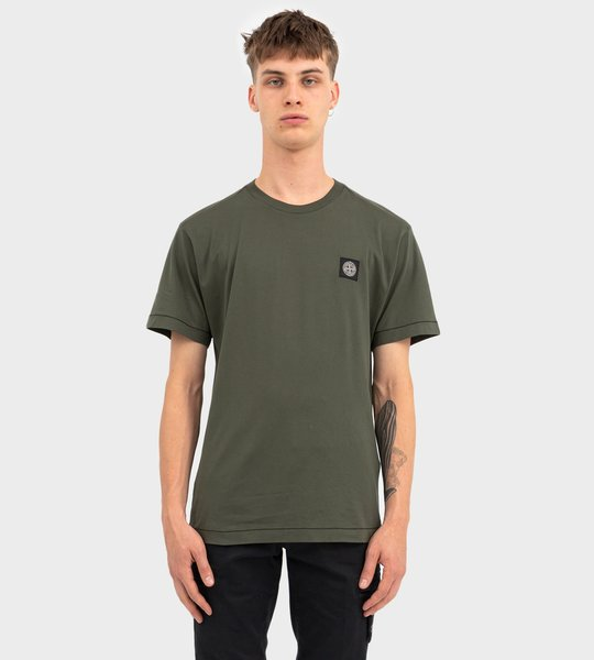 Compass Patch T-shirt Green