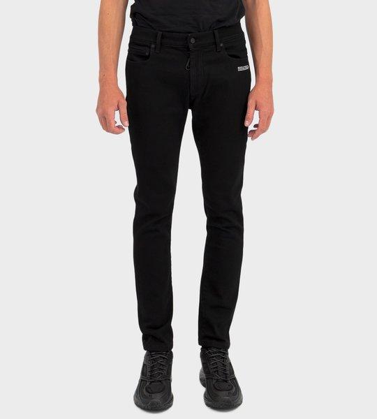 Skinny Denim Pants Black
