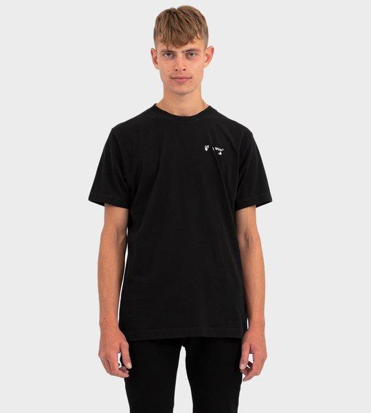 Logo T-shirt In Black