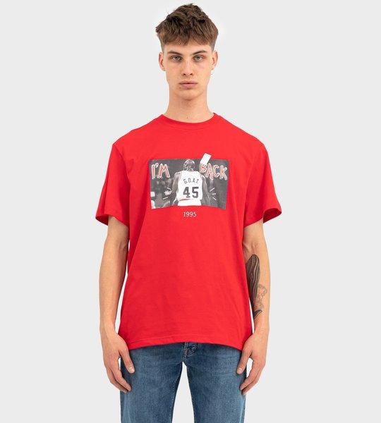 G.O.A.T. TBT 45 T-Shirt Red