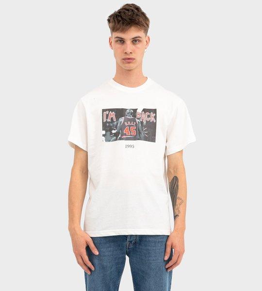 G.O.A.T. TBT 45 T-Shirt White