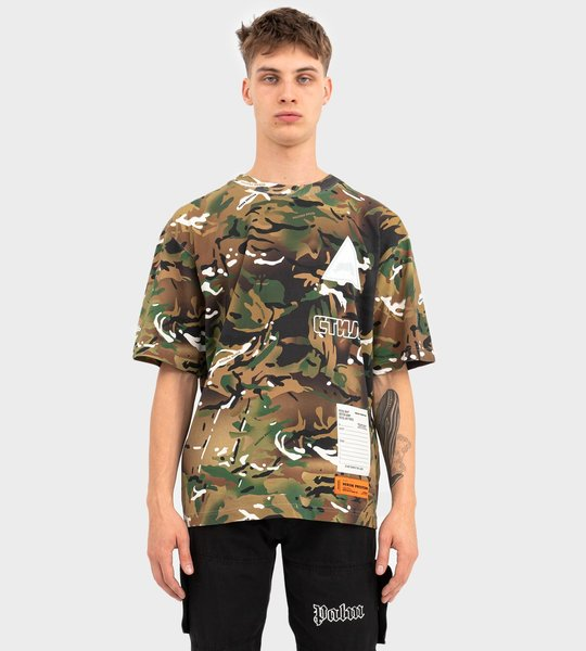 HP X MINISTRY OF DEFENCE Camouflage S/S T-shirt