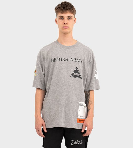 HP X MINISTRY OF DEFENCE British Army S/S T-shirt Grey