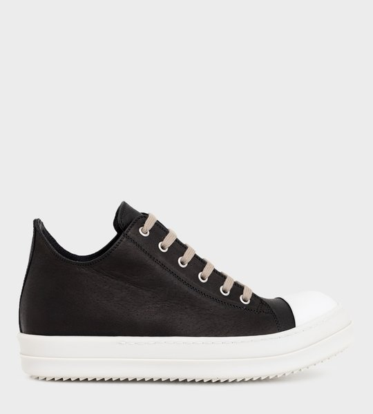 Low-Top Sneakers  Black
