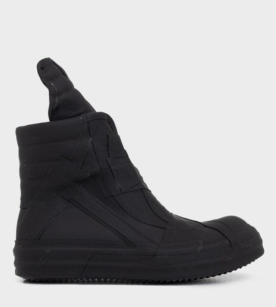 Performa Geobasket Black Rubber Sneakers
