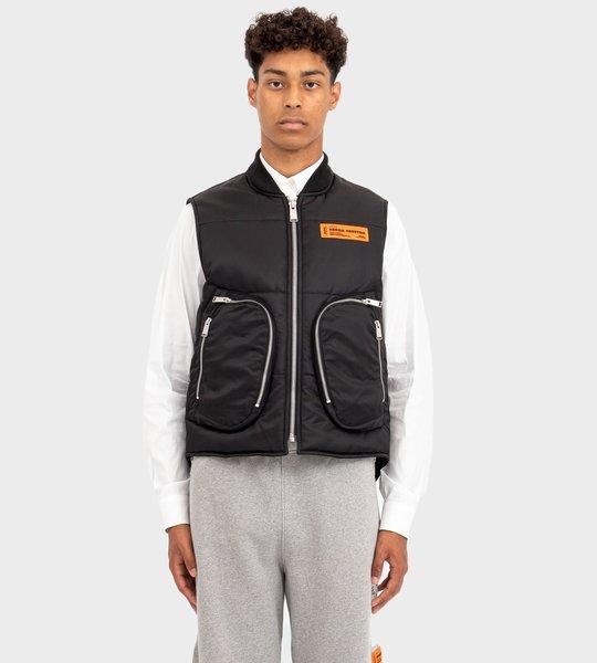Nylon Vest Black