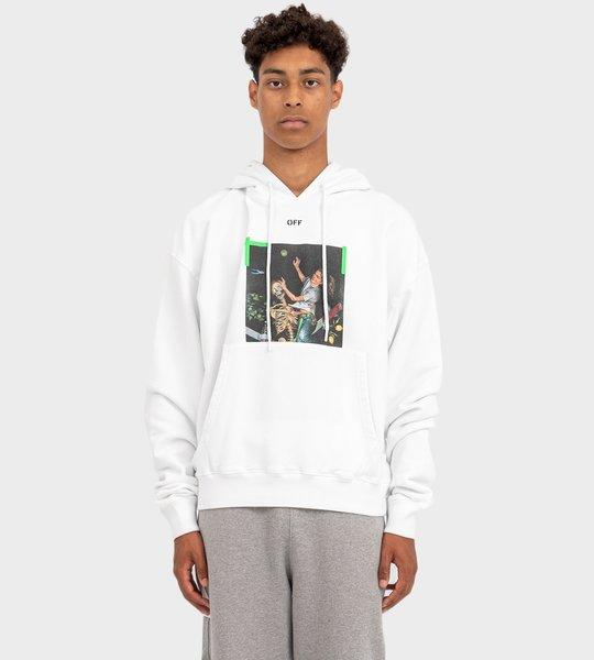 Pascal Oversize Hoodie White