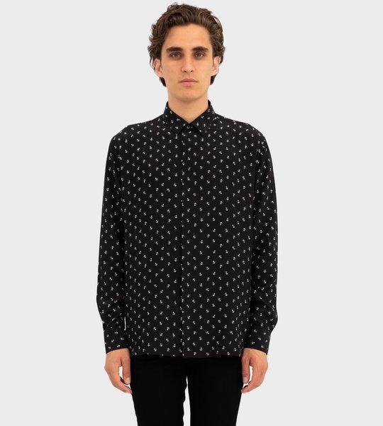 Anchor print shirt